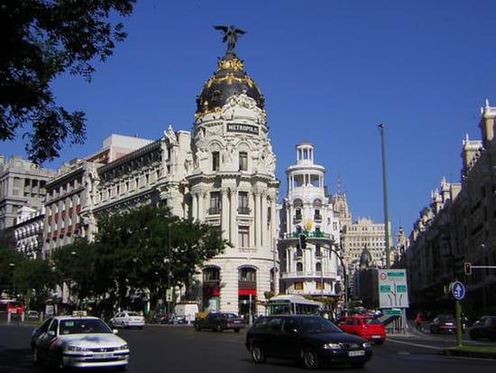 سياحة بلاد الأندلس المغصوبة إسبانيا rues-madrid-espagne-
