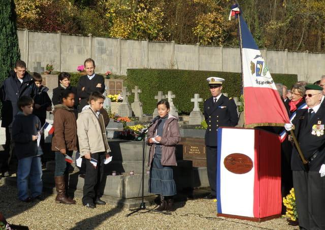 11 novembre 2008, au Pecq