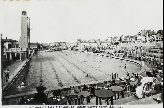 Le touquet paris plage la piscine marine par helena duhoo - Piscine plage paris asnieres sur seine ...