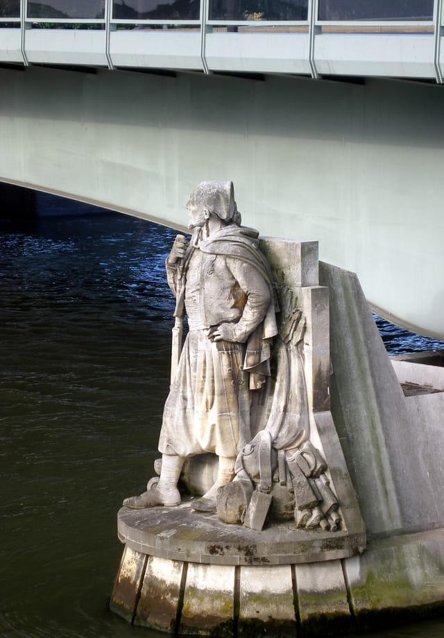 Le Zouave Du Pont De L Alma Par Alain Roy Sur L Internaute