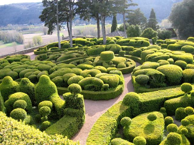 Le jardin du château de marqueyssac