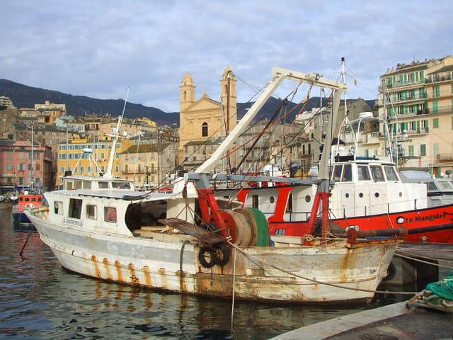 vieux port bastia par charles lucchini sur l internaute