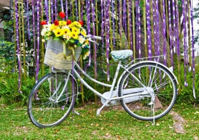Декоративные велосипеды своими руками фото