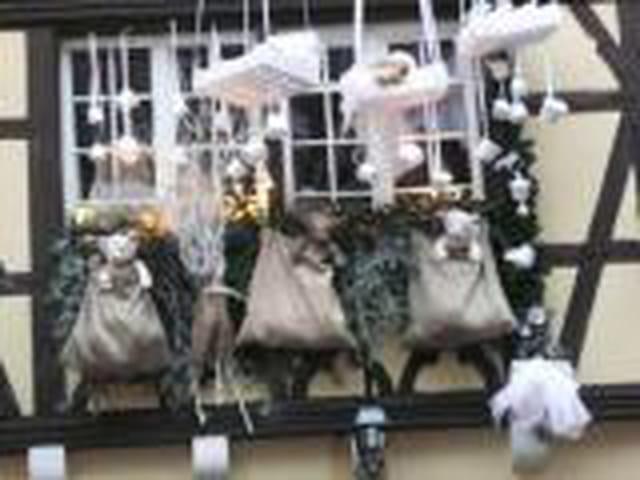 No l en alsace par mauricette riviere sur l 39 internaute for Decoration fenetre noel alsace