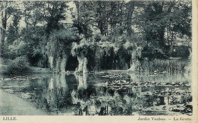 Lille le jardin vauban et la grotte par helena duhoo sur l 39 internaute - Le jardin champetre magog lille ...