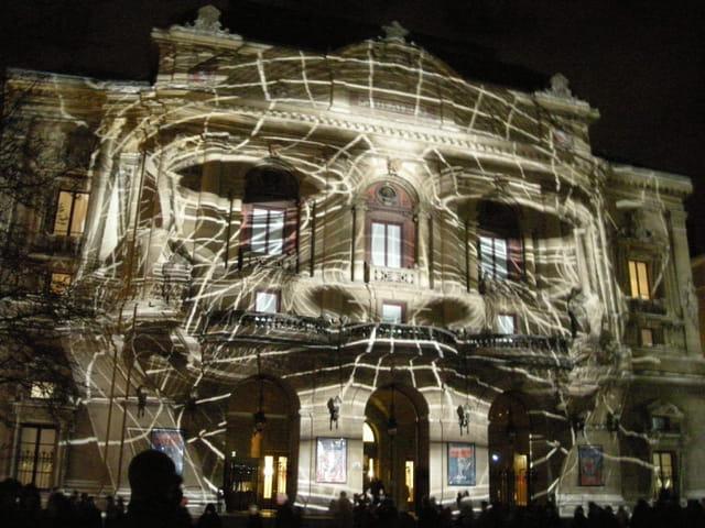 Théâtre des Célestins fête des Lumières