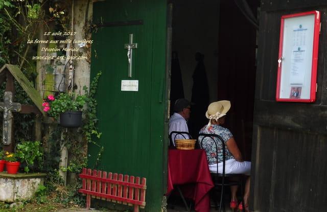 15 août 2017  Dévotion Mariale chapelle Ste Monique Fitilieu