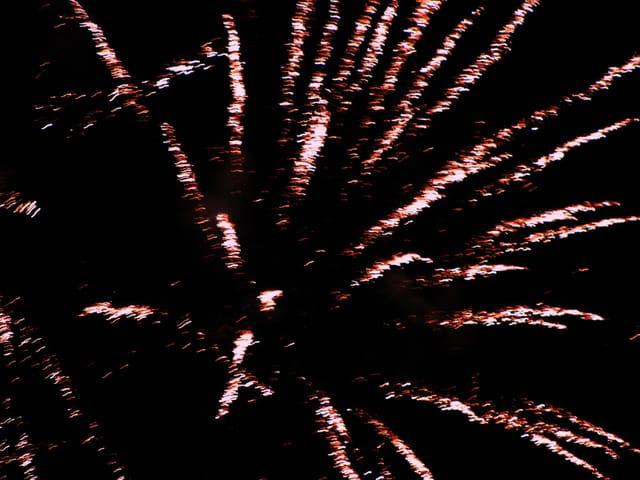 Les derniers feux d'artifice!!