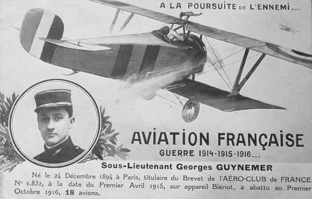 1914-18 : A la poursuite de l'ennemi, Guynemer