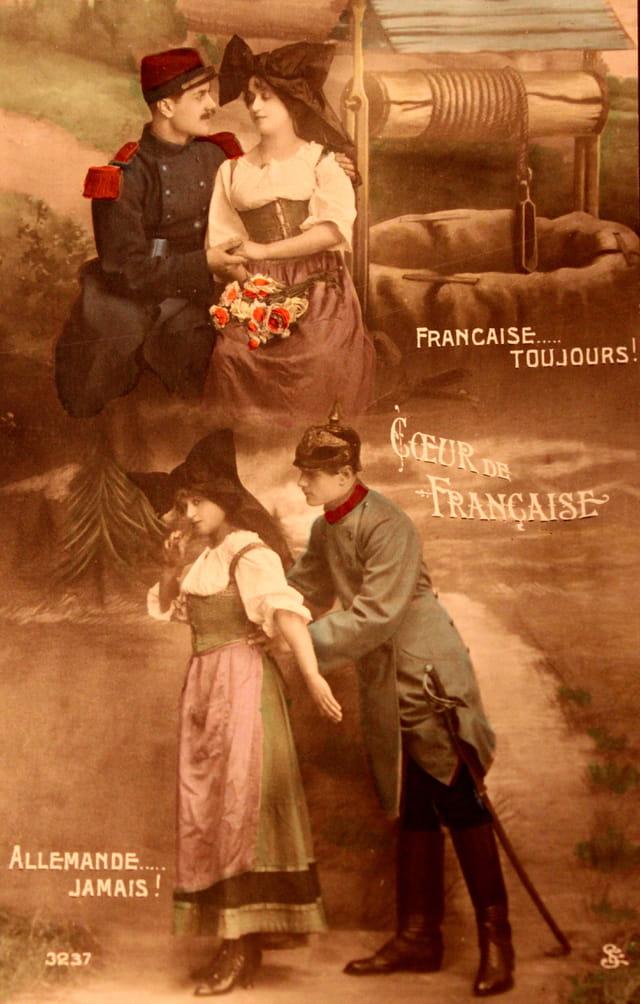 1914-18 : Coeur de Française...