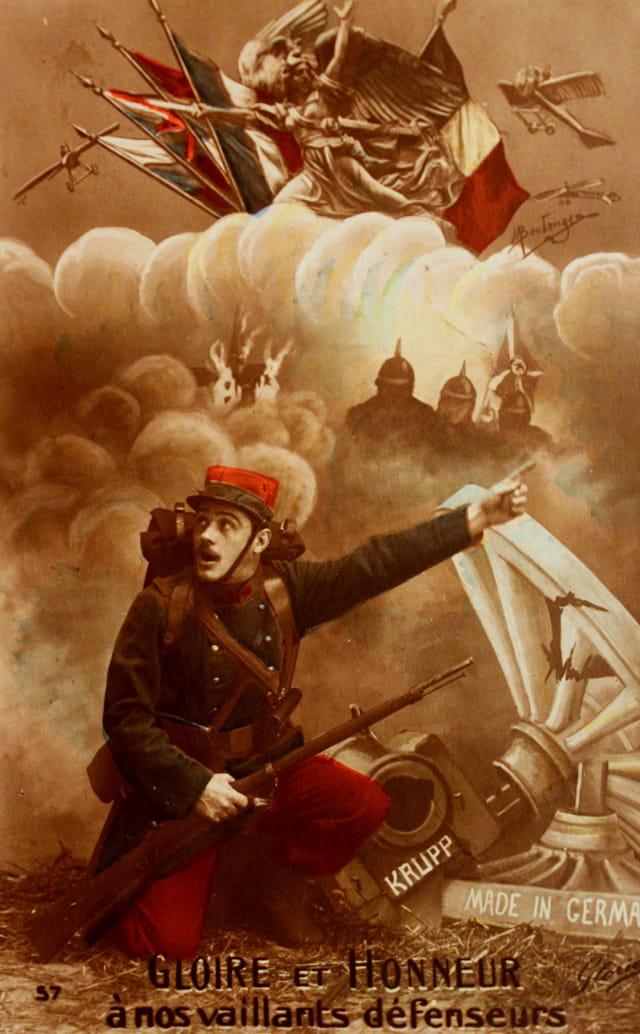 """1914-18 : """"Gloire et Honneur à nos vaillants défenseurs"""""""