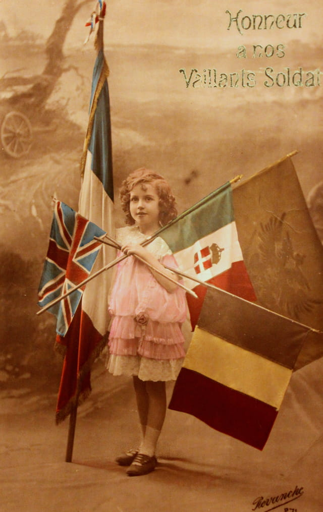 """1914-18 : """"Honneur à nos vaillants soldats"""""""