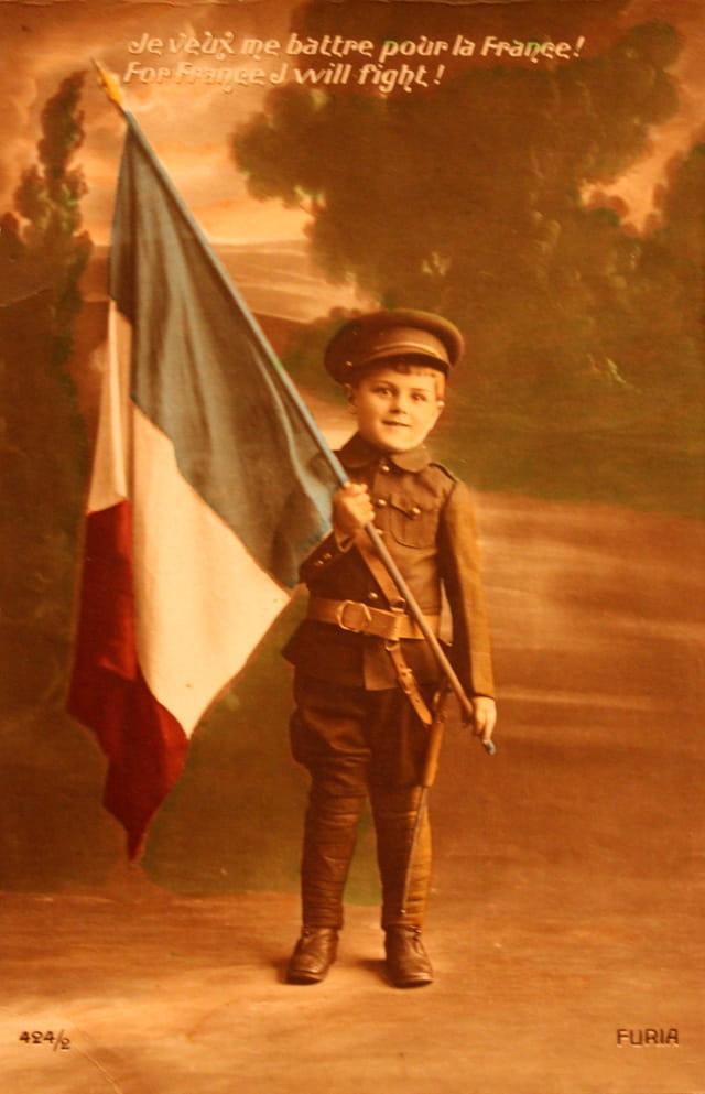 1914-18 : Se battre pour la France...