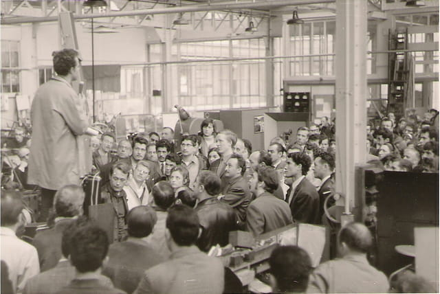 1er meeting de grève
