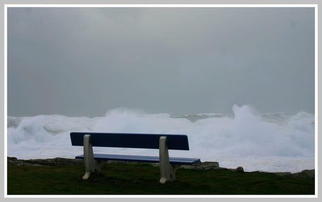 1ère tempête de l'hiver Bretagne