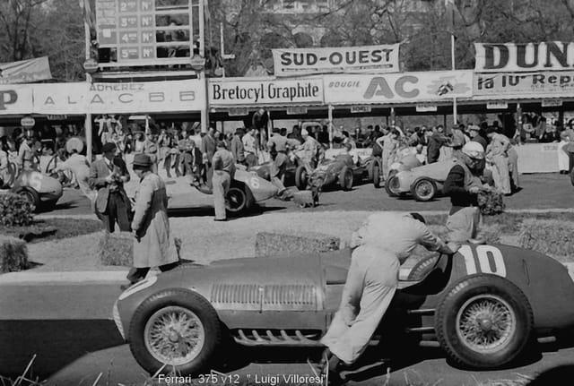 Grand prix de pau 1951 par henri joiret sur l 39 internaute for Jardinage pau