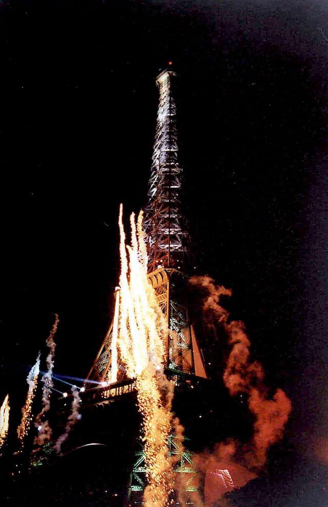 Paris Tour Eiffel Jean Michel Jarre 1995 Par Andr 233 Aumont