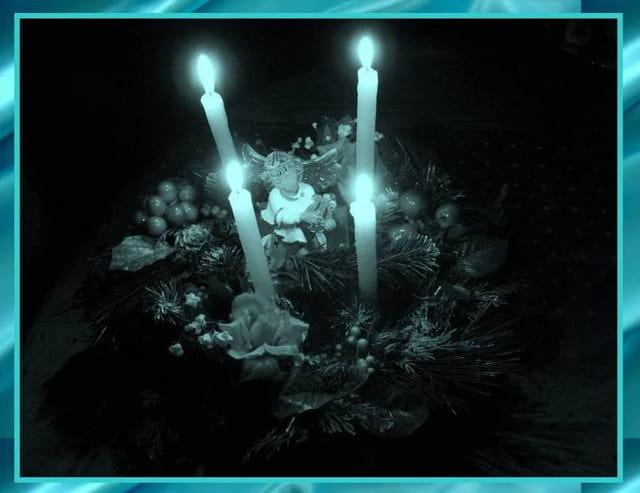4 bougies pour la paix