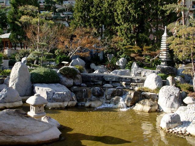 Cascade Du Jardin Japonais Par Baptiste Riviere Sur L Internaute