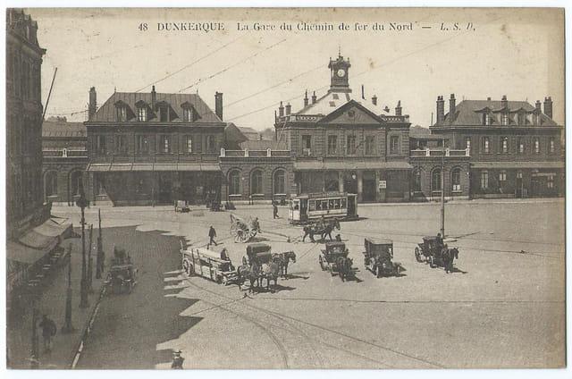 59 DUNKERQUE - La Gare du Chemin de fer du Nord