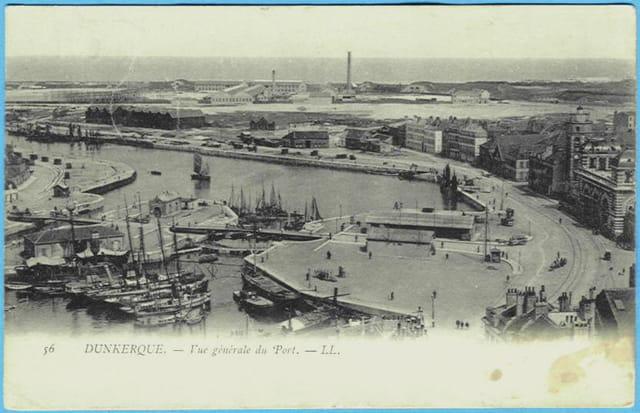 59 DUNKERQUE - Vue générale du Port