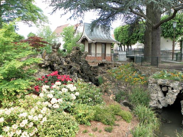 91 arpajon les jardins de la mairie par pierre lastennet sur l 39 internaute - Jardin de l ile seguin ...