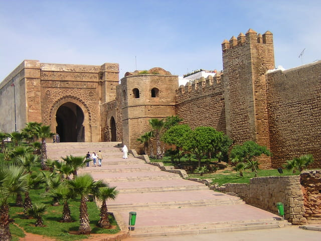 Kasbah des oudayas de rabat guide de voyage tourisme for Jardin oudaya rabat