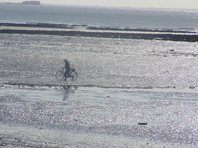 � bicyclette...ou à pied