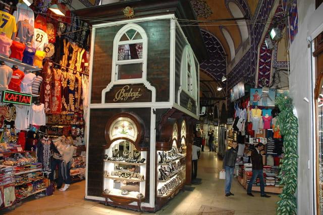 A l'intérieur du grand bazar