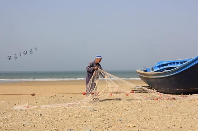 A la plage de Tafanada