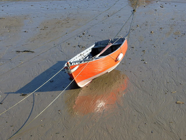 � marée basse