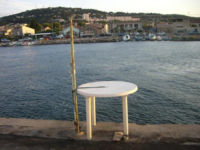 A table