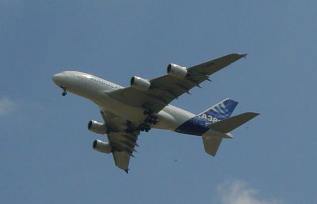 A380, vedette du Bourget