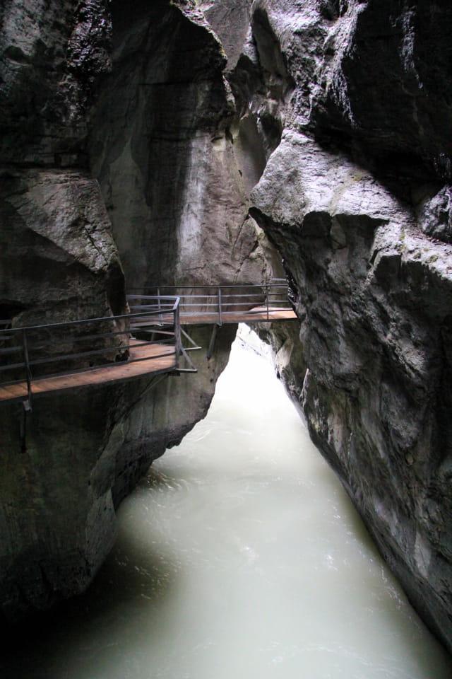 Aareschlucht à Meiringen (Suisse)