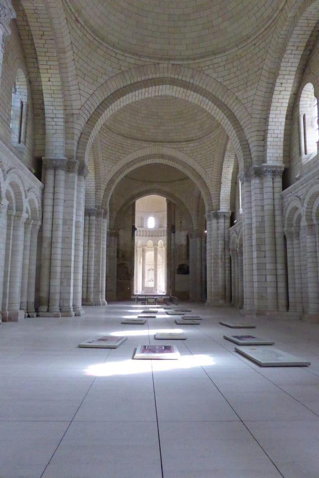 Abbaye de Fontevraud : la nef