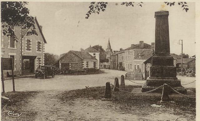 Abjat, la rue principale