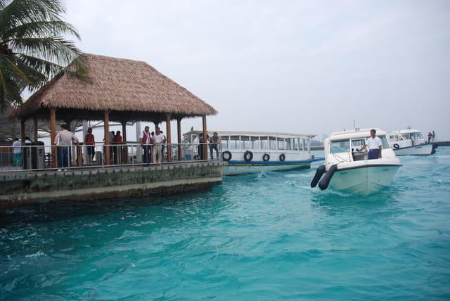 accostage à Malé