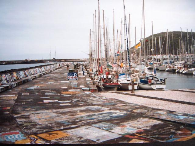 Açores : port de Faial