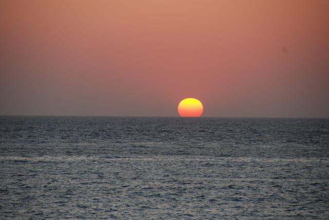 Admirable coucher de soleil