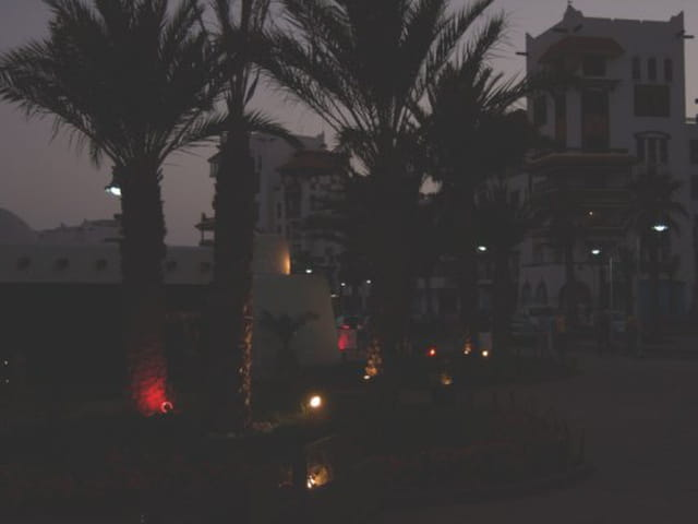 Agadir by night