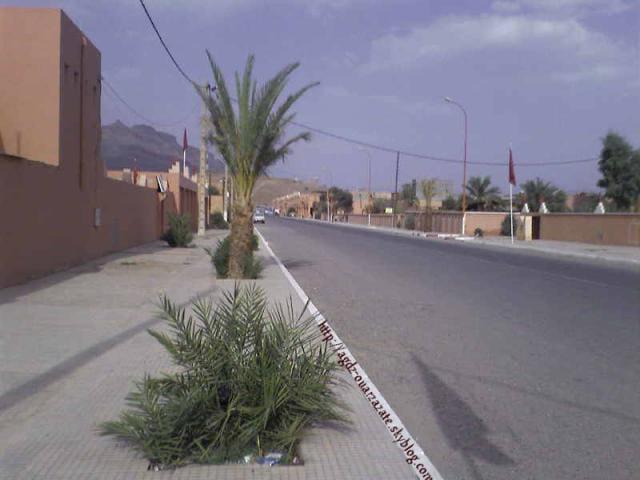 Agdz, l'entrée de la ville