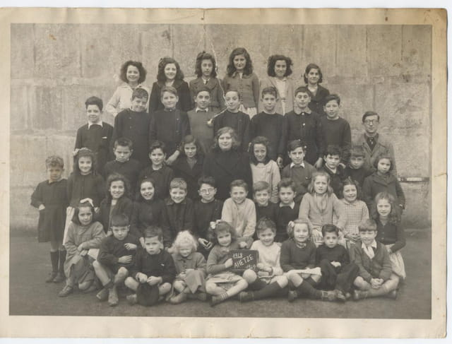 Ahetze - Ecole primaire 1948-1949