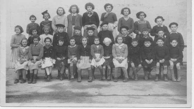 Ahetze - école primaire - 1948-1949