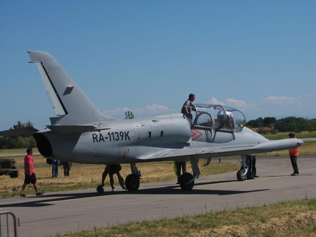 Air Expo - Muret 2011 - Avion de chasse LU Albatros.
