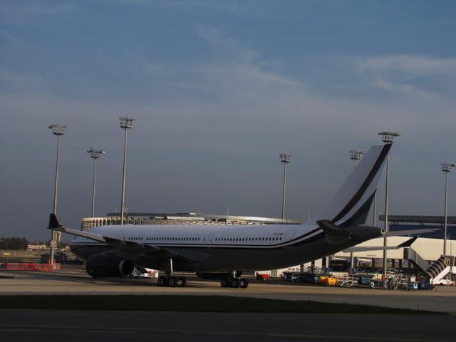 Airbus A 330 - Tarmac de Toulouse.