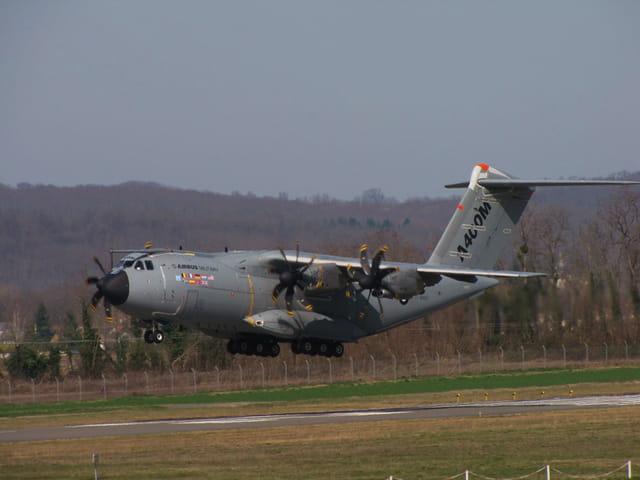 Airbus A400M - Le nouvel avion militaire, dernière génération.