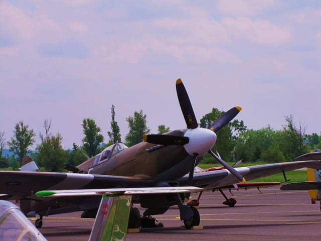 Airexpo - Muret - Avion Spitfire.