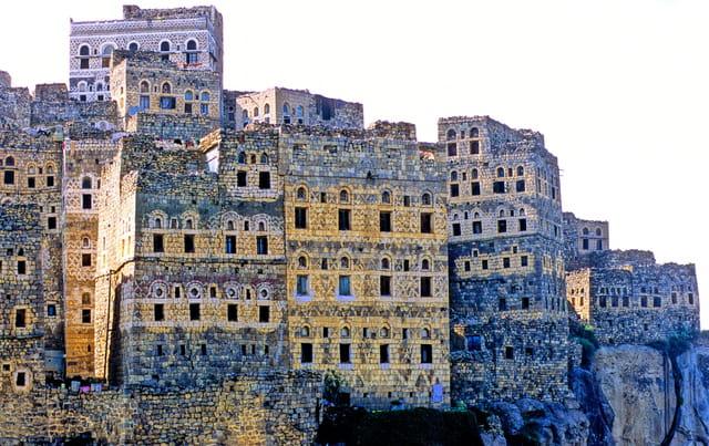 Al-hajjara, ville-forteresse.