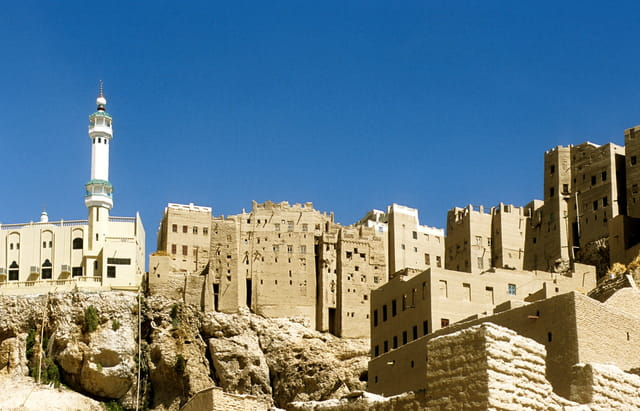 Al hajjarein, ville-forteresse.