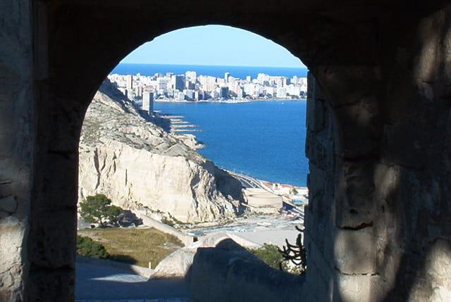 Alicante vue de la citadelle
